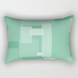 Matted Green - Color Therapy Rectangular Pillow