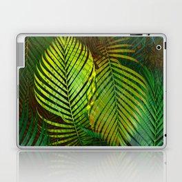 TROPICAL GREENERY LEAVES Laptop & iPad Skin