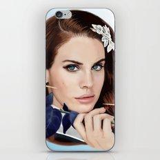 True Blue iPhone & iPod Skin