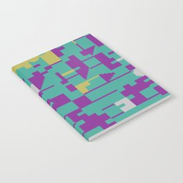 Abstract 8 Bit Art Notebook