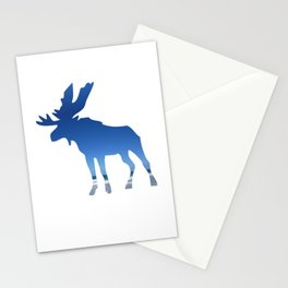 blue moose Stationery Cards