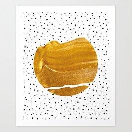 Stay Gold #society6 #decor #buyart Art Print
