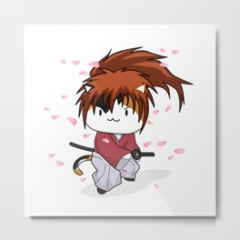Kenshin Himeowra Metal Print