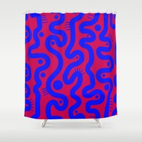 matisse Shower Curtains featuring Matisse by Bunyip Designs