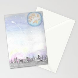 Colors of the Sky Stationery Cards
