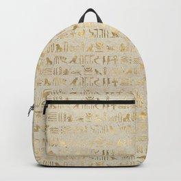 Hieroglyphs Papyrus Backpack