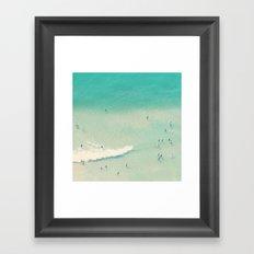 sea bliss II Framed Art Print