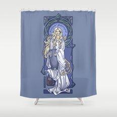 Galadriel Nouveau Shower Curtain