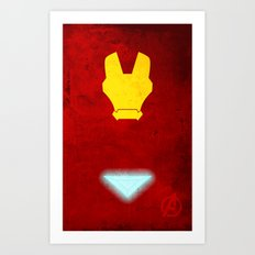 Iron Man: Avengers Movie Variant Art Print