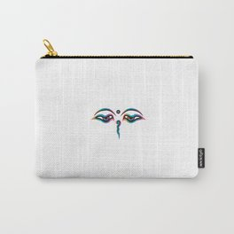 Rainbow Eyes of God of India Carry-All Pouch
