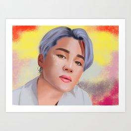 Jimin BTS Art Print
