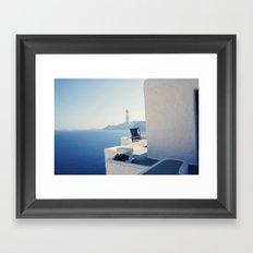 secret paradise Framed Art Print