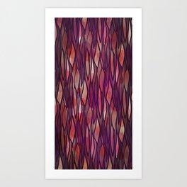 Rouge Willow Art Print