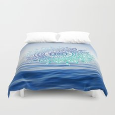 Sea Mandalla Duvet Cover
