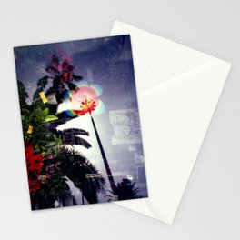 Urban double exposure Stationery Cards