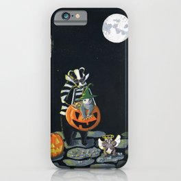 The Trick Or Treaters by Mary Bottom (Mr Harry Badger Series) iPhone Case