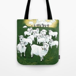 Hide & Sheep Tote Bag