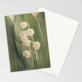 Scents of Spring - Lily of the Valley iii Stationery Cards