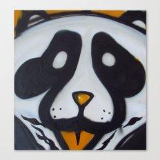 Pandas and Polaroids Canvas Print