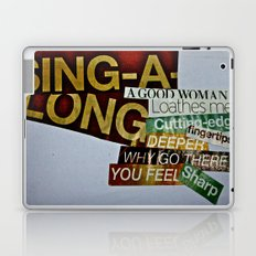 Singalong Laptop & iPad Skin