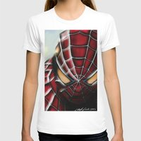 spider man T-shirts featuring Spider-Man by Inspirations