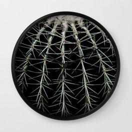 Carinate Cacti I Wall Clock