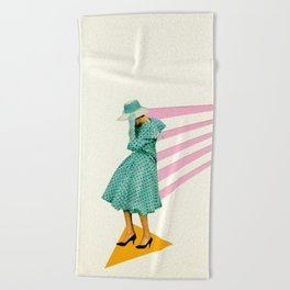 Windswept Beach Towel