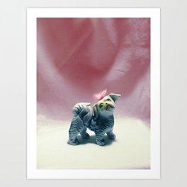Fluffy Art Print
