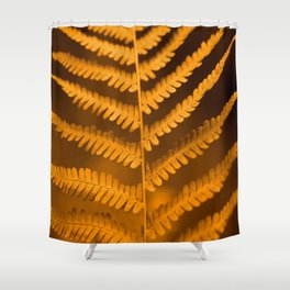 Fern Leaf in Fall Color Autumn Scene #decor #society6 #buyart Shower Curtain