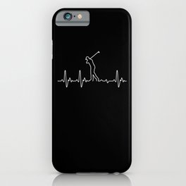 Heartbeat Golf iPhone Case