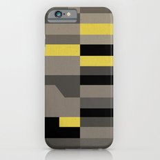 White Rock Yellow Slim Case iPhone 6s