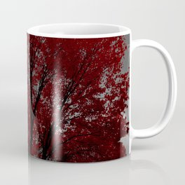 Red Tree, Grey Sky Coffee Mug