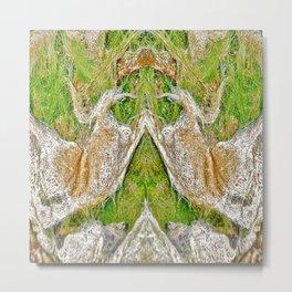 Ocean Grass Metal Print