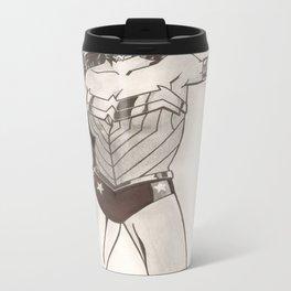 Woman of Wonder. Metal Travel Mug