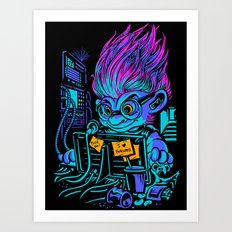 The Forum Menace Art Print