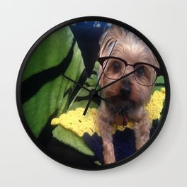 Smart Yorkie Wall Clock