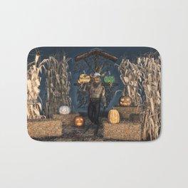 Scarecrow Reaper Bath Mat