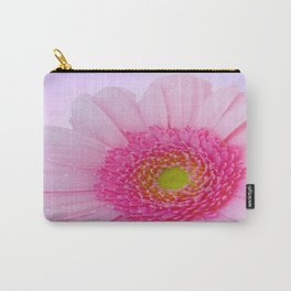 Pink Gerbera Carry-All Pouch