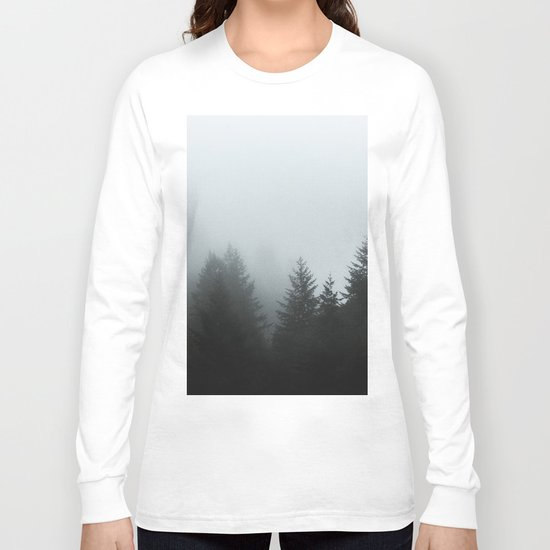 Dark forest mood Long Sleeve T-shirt