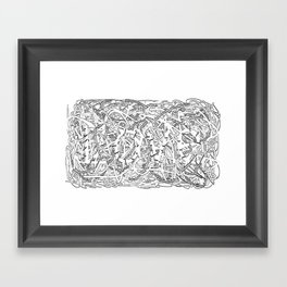 you are my Gordian Knot Framed Art Print