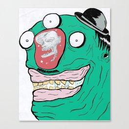 When minds wander.... Canvas Print