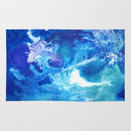 Nihal - Abstract Costellation Painting Rug