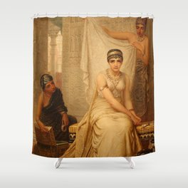 Esther by Edwin Long Shower Curtain
