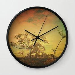 Summer Enchantment Love Wall Clock
