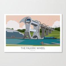 The Falkirk Wheel Canvas Print