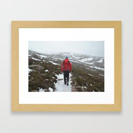 Setting off for a Scottish Expedition Framed Art Print