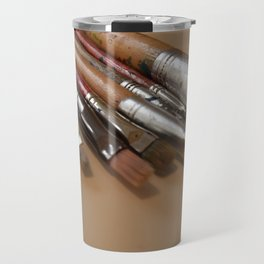 brushes Travel Mug