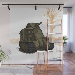 Lee_(WWII COMBAT VEHICLES (USA) Wall Mural