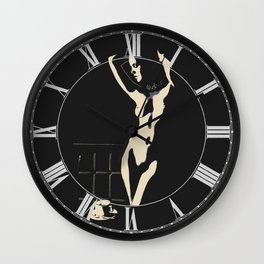 Sexy, Dark & Coffee Wall Clock
