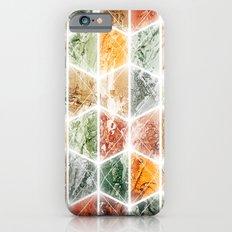 bright honeycomb iPhone 6s Slim Case